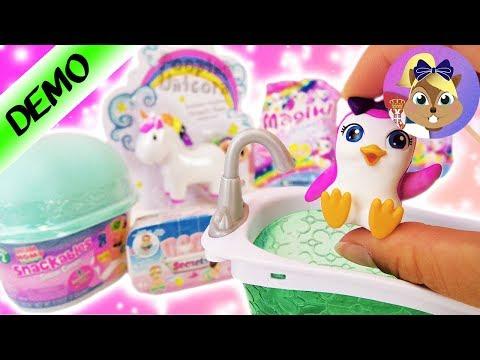 VELIKA iznenađenja:  Num Noms igračke, Snackables Snow Cones, Magiki kesice iznenađenja Baby Secrets
