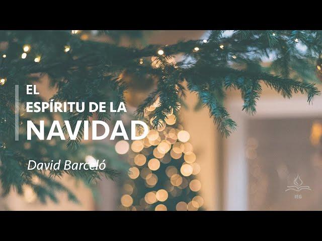 El Espíritu de la Navidad   David Barcelo