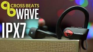 CrossBeats Wave Bluetooth Earphones - IPX7 Waterproof