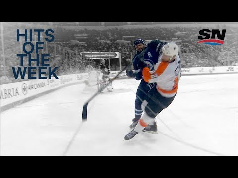 Hits of the Week: Dustin Byfuglien is a bad man