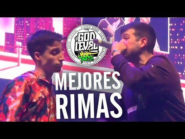 Las MEJORES RIMAS del GOD LEVEL FEST PERÚ 2019 - MUNDIAL DE FREESTYLE [3vs3]
