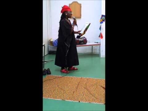 Akuba Reading her Poem, 'No Sugar Please, Just Freedom' UCAS Emancipation Day 2014