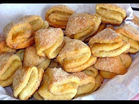 Как делать творожный печенье