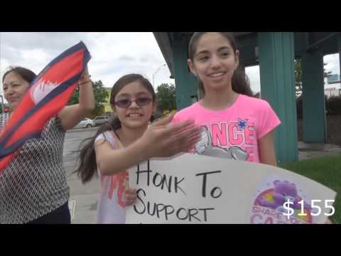 Nepal Earthquake Honk for Nepal Disaster Relief Charity Campaign