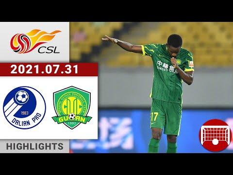 Dalian Pro Beijing Guoan Goals And Highlights