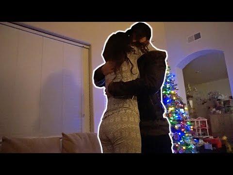 Surprising My Girlfriend on Christmas Eve