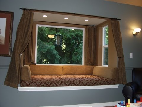 Awesome Bay Window Seat Plans Design Ideas To Utilize Bay Window Space Youtube