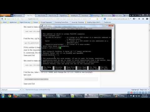 How To Install Linux, Nginx, MySQL, PHP (LEMP) Stack On Ubuntu 12.04