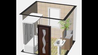 Дизайн ванной комнаты.(Дизайн ванной комнаты. Видео для ознакомления с программами по дизайну интерьера.Программы