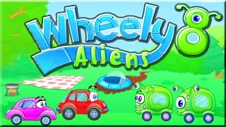 Wheely 8: Aliens - Game Walkthrough (All Levels)
