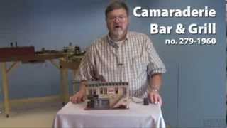 Menards O Gauge Wooden Structure, A Classic Toy Trains Video Review