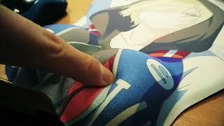 Тестируем коврик для мышки Yuri on Ice
