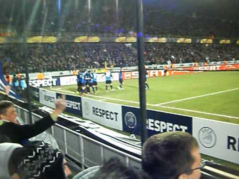 FC Bruges vs Valencia kouemaha 1-0