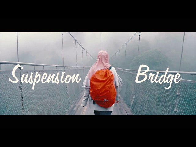 Situ Gunung Suspension Bridge - Terpanjang di Indonesia! (Cinematic Video)
