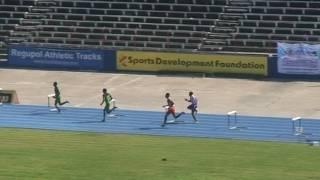 Isaac Henry Meet 2017   Boys Cl2 400m Hurdles