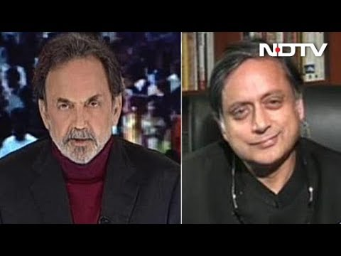 """How Long Will People Pay For Empty Packages?"" Shashi Tharoor On PM Modi"