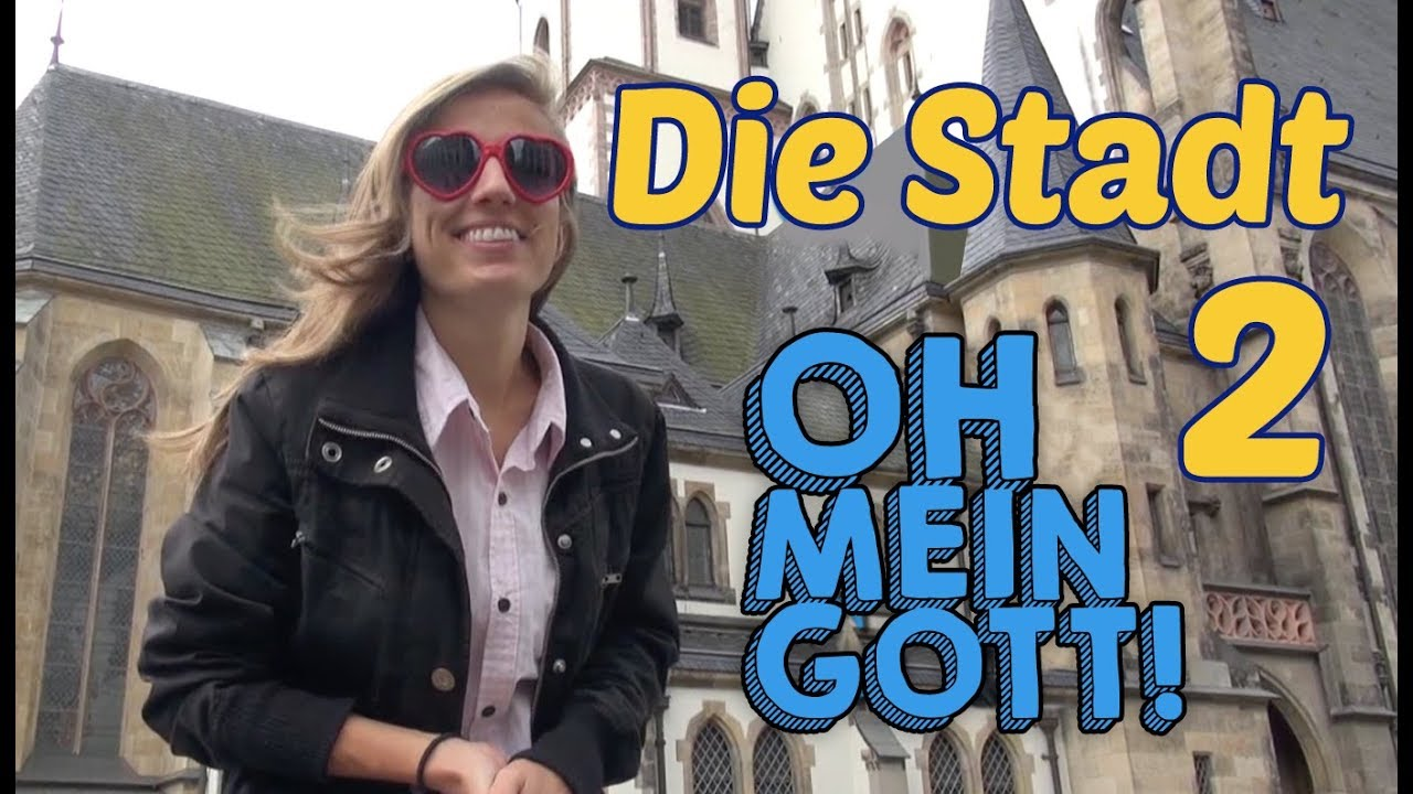 Learn German Vocabulary Of The City Part 2 Die Stadt Leipzig