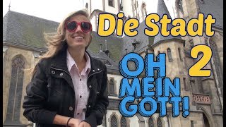 LEARN GERMAN VOCABULARY of the CITY (part 2) - Die Stadt Leipzig 🏫🏫🏫