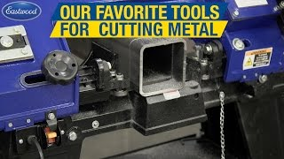 Some of Our Favorite Tools For Cutting Metal - Bandsaw, Plasma Cutter & More! Eastwood