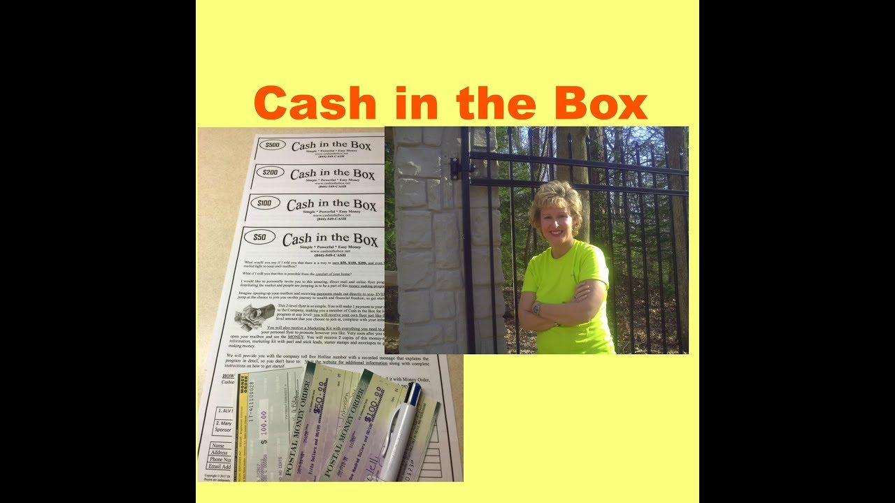 cash in the box flyer program amazing specials youtube