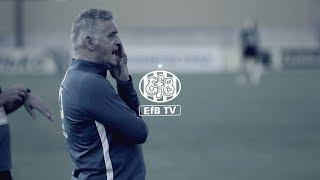 John Lammers ser frem mod aftenens kamp i Europa League