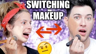 ME AND MY BEST FRIEND SWITCH MAKEUP!