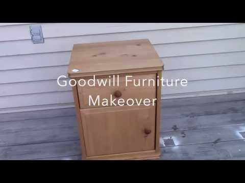 Goodwill Furniture Makeover..