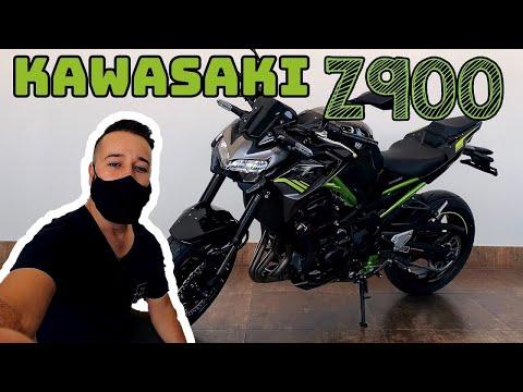 KAWASAKI Z900: Primeiro contato com o modelo japonês!