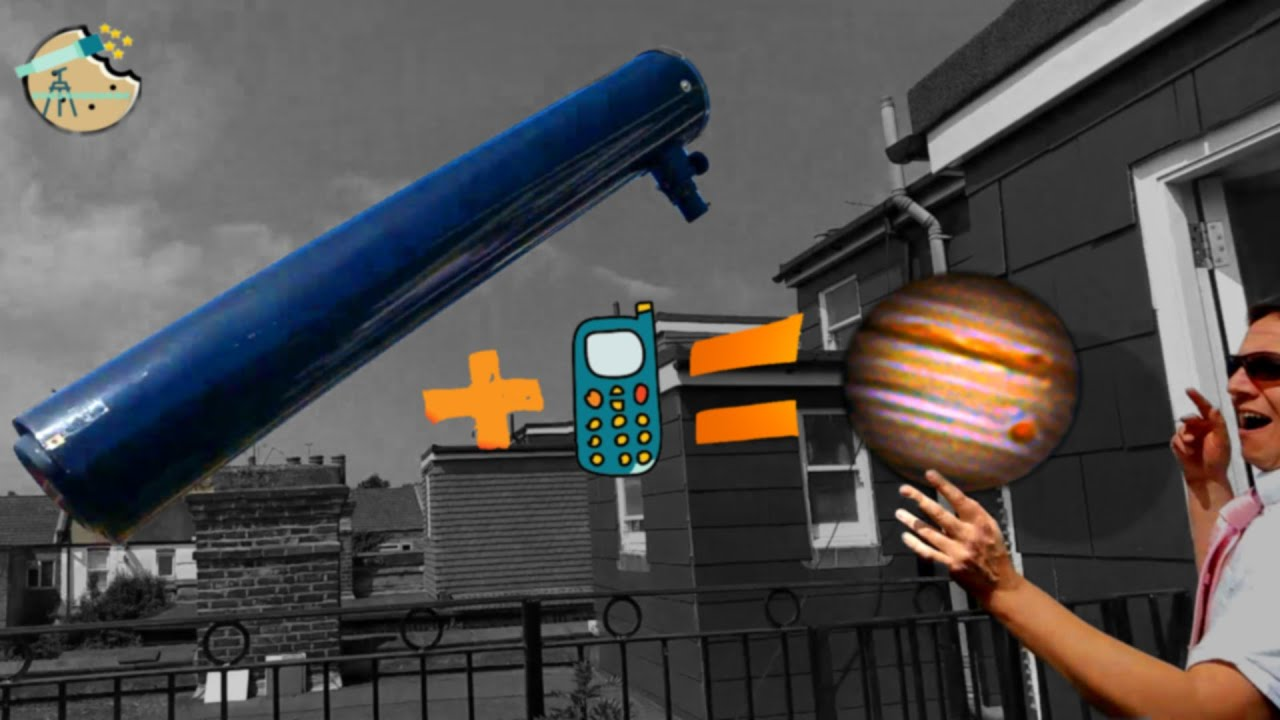 Shoot a Planet with a Phone and a Telescope: MEGA CHEAP PLANETARY PHOTOGRAPHY