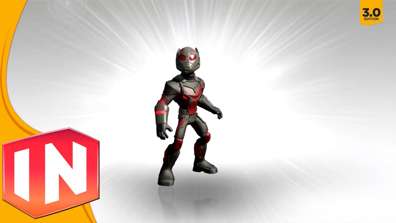 disney infinity 3.0 - marvel character previews: ant man, cap: 1st