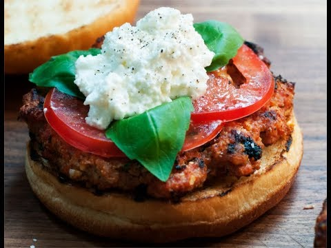 Andrew Zimmern Cooks: Turkey Burgers With Ricotta & Basil