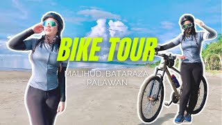 BIKE TOUR   South Palawan Beach (Malihud Beach, Bataraza, Palawan)