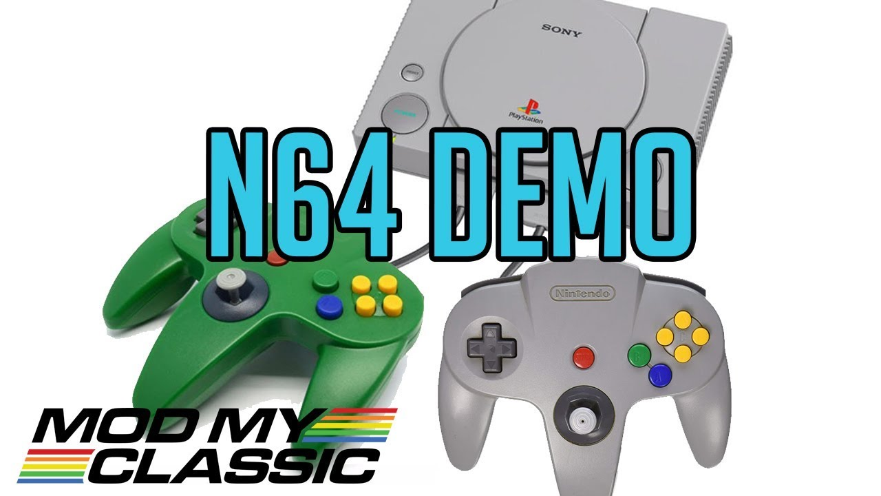 DEMO | 64+ N64 Games Playing on You Playstation Classic Hack! - YouTube
