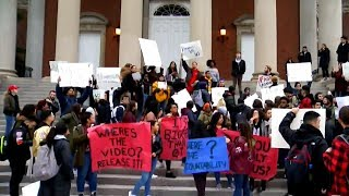 """Syracuse University students protest """"extremely racist"""" fraternity video"""