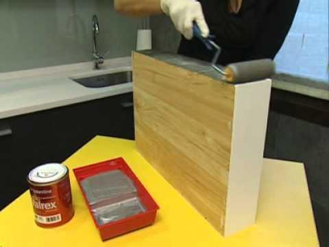 Bricoman a reciclar caja de madera youtube for Como reciclar puertas de madera