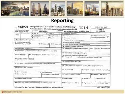 U.S. Taxes and Reporting for Non-U.S. Clients