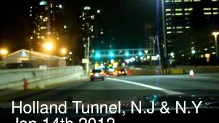 HOLLAND TUNNEL JAN 2012