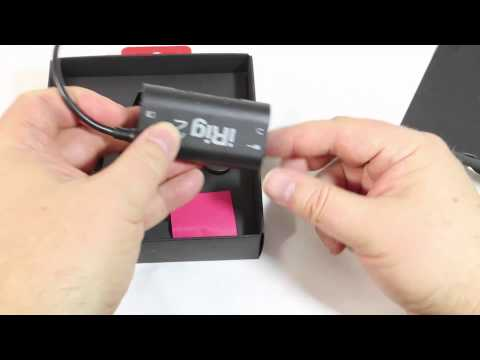 IK Multimedia iRig 2 Guitar Interface for Mobile Devices Unboxing Review @IKmultimedia