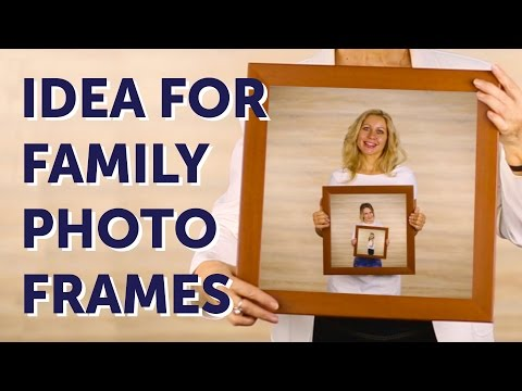 Beautiful Family Photo Gift Idea L 5-MINUTE CRAFTS