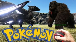 BATALLA POKEMON EN ARK!! - MINIJUEGO - ARK: Survival Evolved