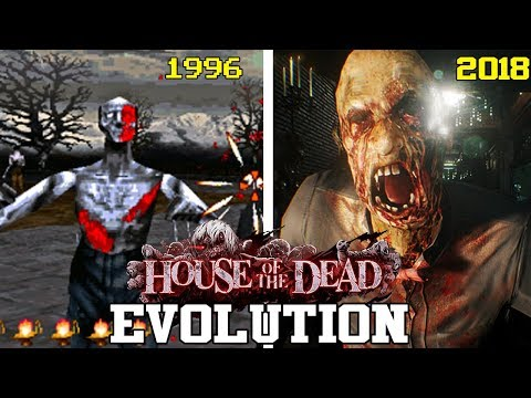 THE HOUSE OF THE DEAD GAMES - EVOLUTION (1996 - 2018) - EVOLUCIÓN HD