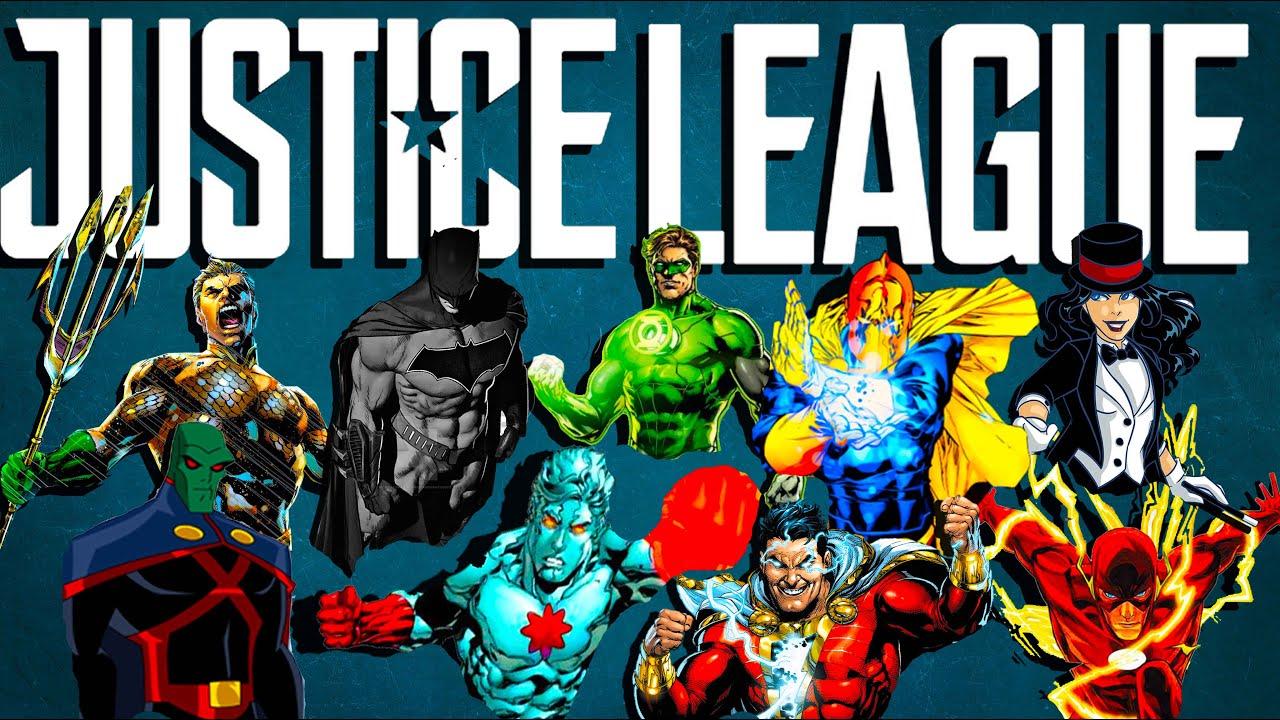 Los 13 miembros mas Poderosos de la Liga de la Justicia del DC Universe