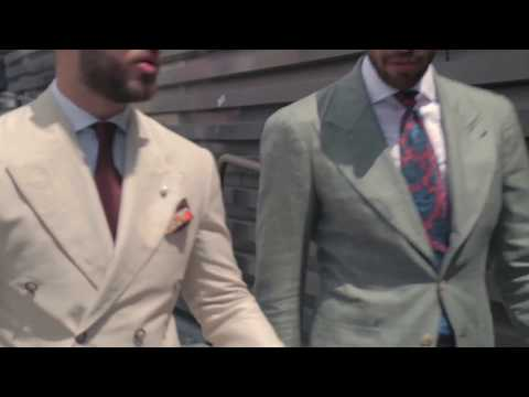 The Linen Suit at Pitti Uomo 90 - SMF x Boggi Milano