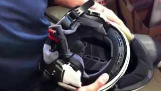 motojama pl montaż zestawu bt sena smh5 01 w kasku szczękowym