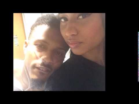 NICKI MINAJ Visits AUGUST ALSINA In The Hospital - 9/23/14