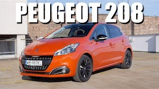 Peugeot 208 2015 facelift (ENG) - Test Drive and Review
