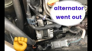 Replacing my alternator on the acura TL