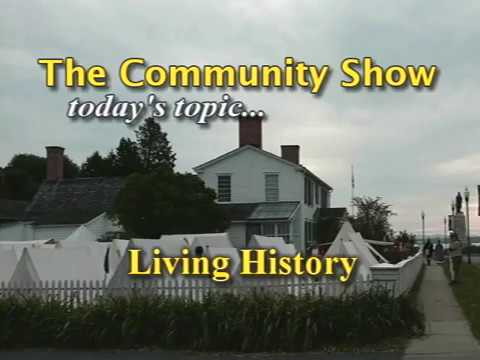 "The Community Show Victor Margiotta w/Joe Ryan ""Living History"" pt 1"