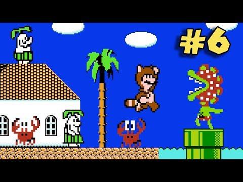 ¿Mario Sunshine en la NES? - Jugando Super Mario Bros. 3 Mix con Pepe el Mago (#6)