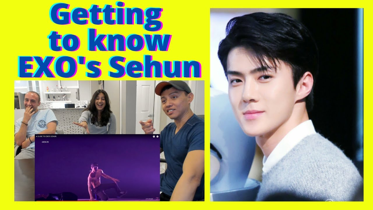 EXO (엑소) | A GUIDE TO EXO'S SEHUN | Reaction video by Reactions Unlimited